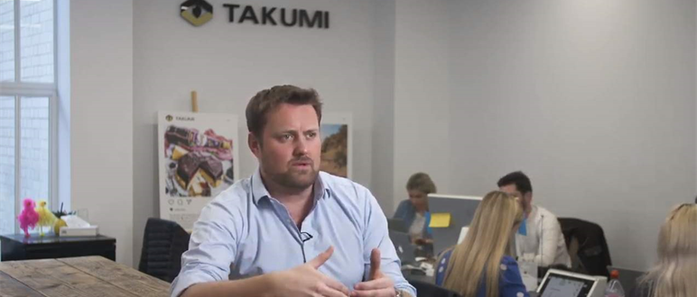 What makes a successful Chief Revenue Officer according to Takumi's Adam Williams